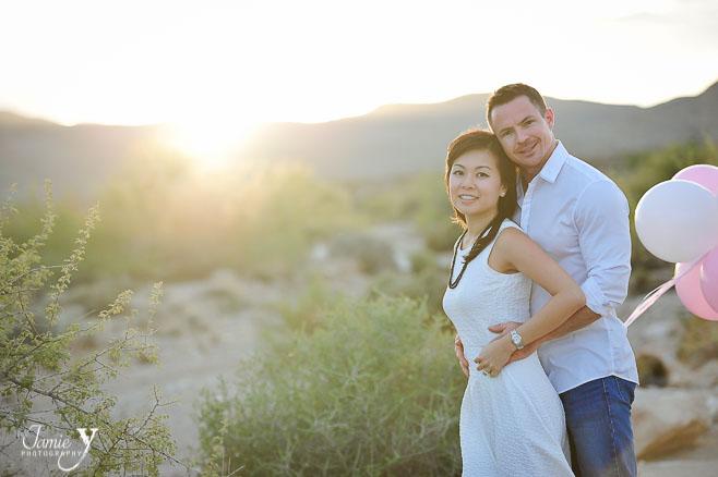 Las Vegas Desert Engagment | Winnie & Matt
