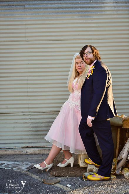 Alternative Offbeat Vegas Wedding   Katie & Richard