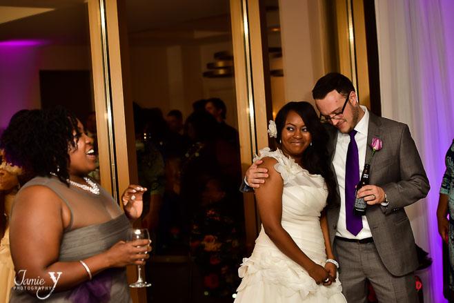 Delano Las Vegas Wedding   In Suite Reception   Yetha & Tyler