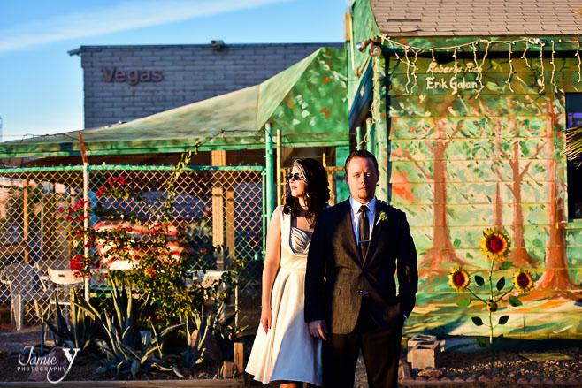 Neon Museum Wedding   Brent & Leigh