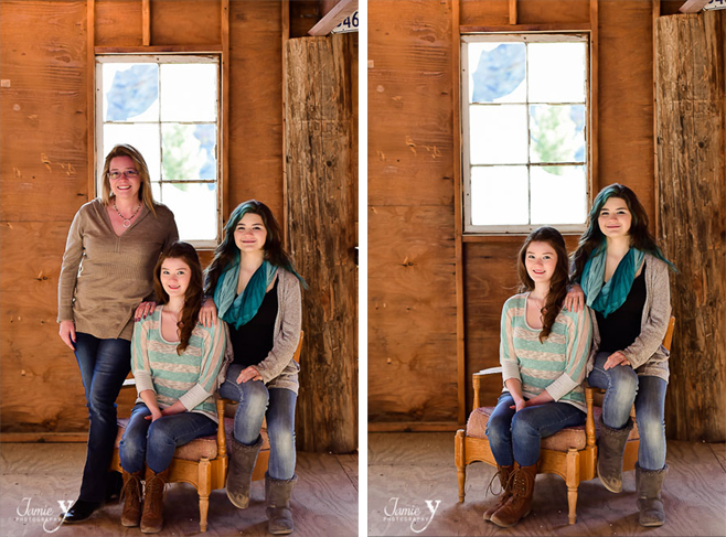 Nelson Ghost Town Family Portraits | Y Family